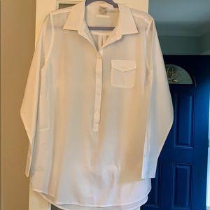 Cotton Big Shirt J. Crew